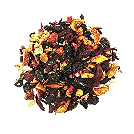Blueberry Tea - Fruit Tea - 100% Natural - Chinese Tea - Decaffeinated - Loose Leaf Tea - 2oz 34 Decaffeinated - Import from China 100% Natural - Fresh - Very Berry - Tasty - Yummy - Delicious to Enjoy Hot or Iced A Mildly - Sweet - Malty Blueberry Flavor - Pulled from Black Berries and Blueberries Creating a Full Bodied - Fruity Richness