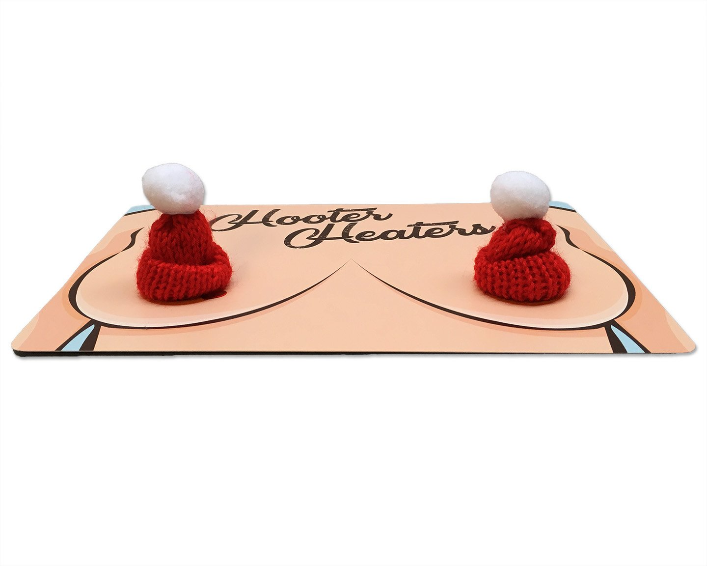 Its a Hat for Your Hooters Funny Gag Gift for Ladies Gears Out Hooter Heaters Chest Warmers for Women