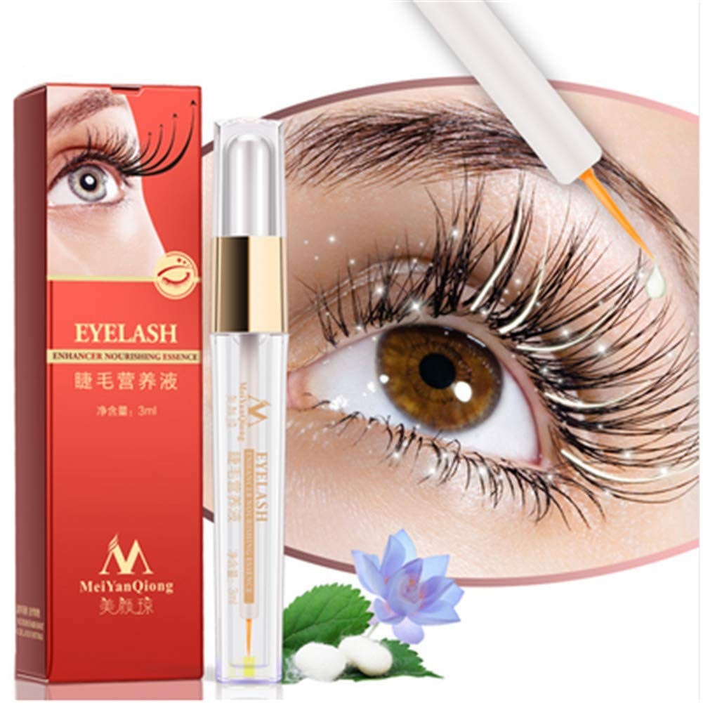 Amazon Herbal Eyelash Growth Treatments Liquid Serum Enhancer