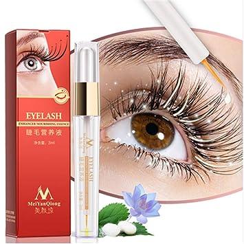 c594f3d90ae Amazon.com: Herbal Eyelash Growth Treatments Liquid Serum Enhancer Eye Lash  Longer Thicker Better than Eyelash Extension Powerful Makeup: Beauty