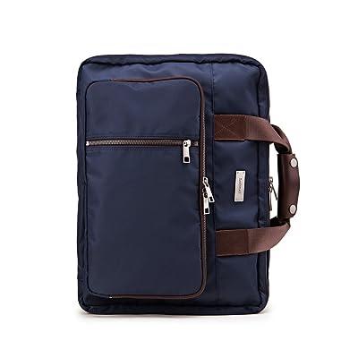 Lodinatt Men's Convertible Briefcase well-wreapped