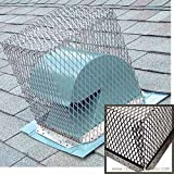 11'' x 11'' Black Stainless Steel Animal Control Screen