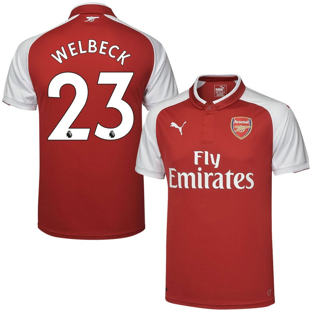 Arsenal Home Trikot 2017 2018 + Welbeck 23