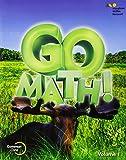 Go Math!: Student Edition Volume 1 Grade 3 2015