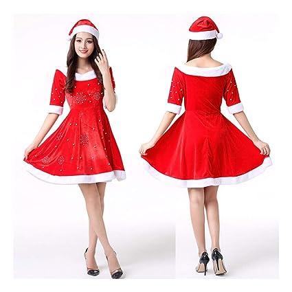 SDLRYF Disfraz De Papá Noel Traje De Navidad Los Hombres Y ...