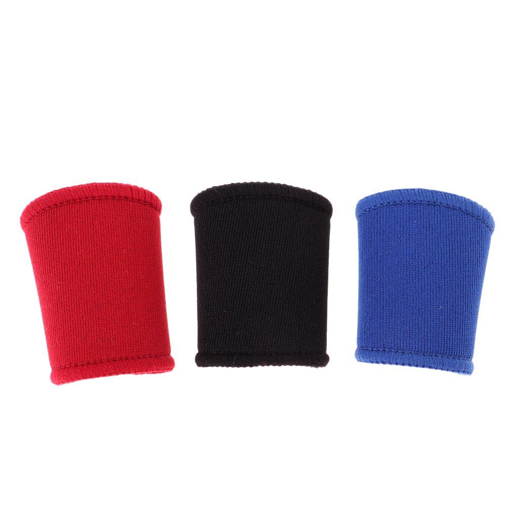 perfk Manguitos Transpirables de Material Poli/éster de Protecci/ón de Dedos para Deportes de Pelotas al Aire Libre Baloncesto F/útbol Voleibol