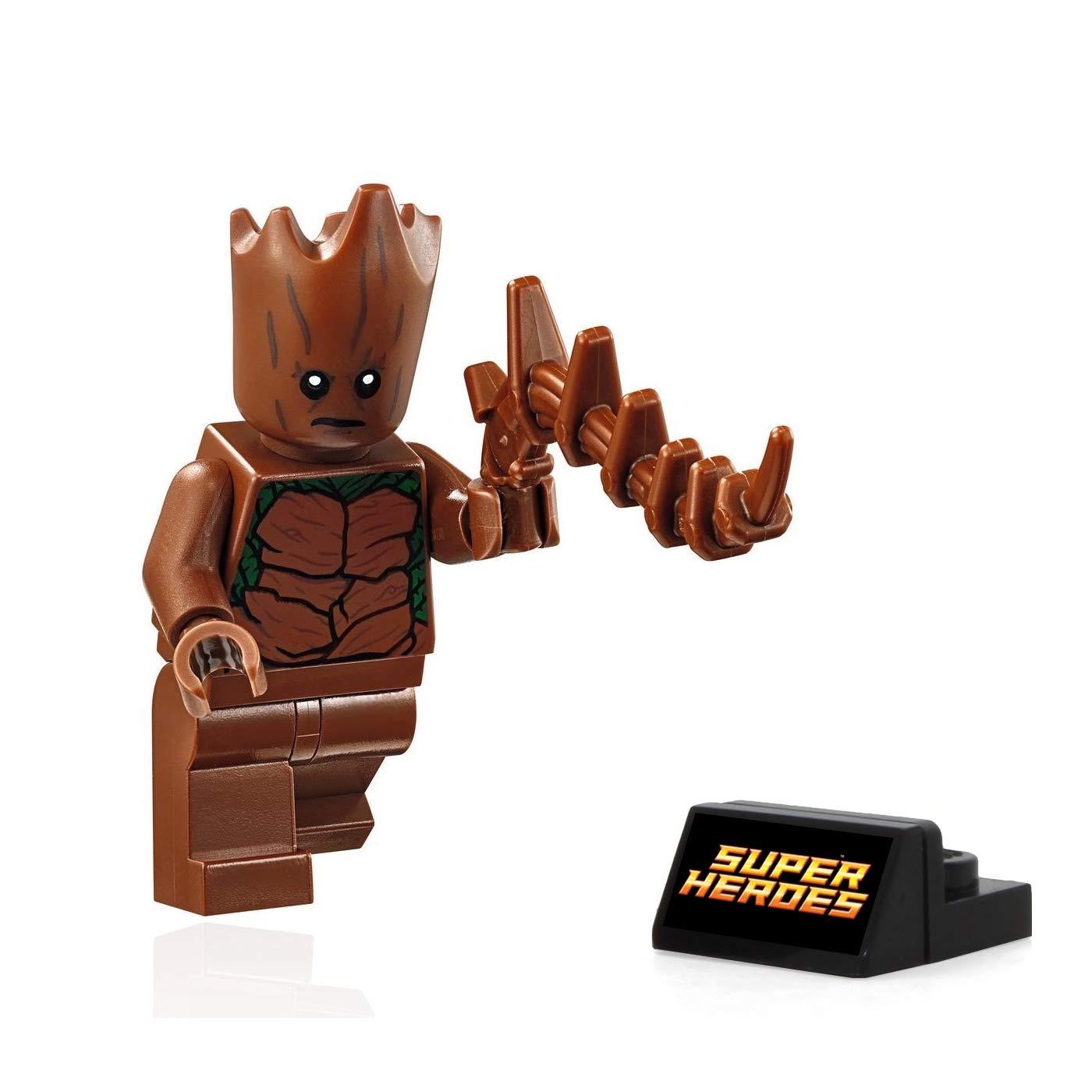 76102 Teenage Groot LEGO Super Heroes: Avengers: Infinity War MiniFigure w//Tree Branch