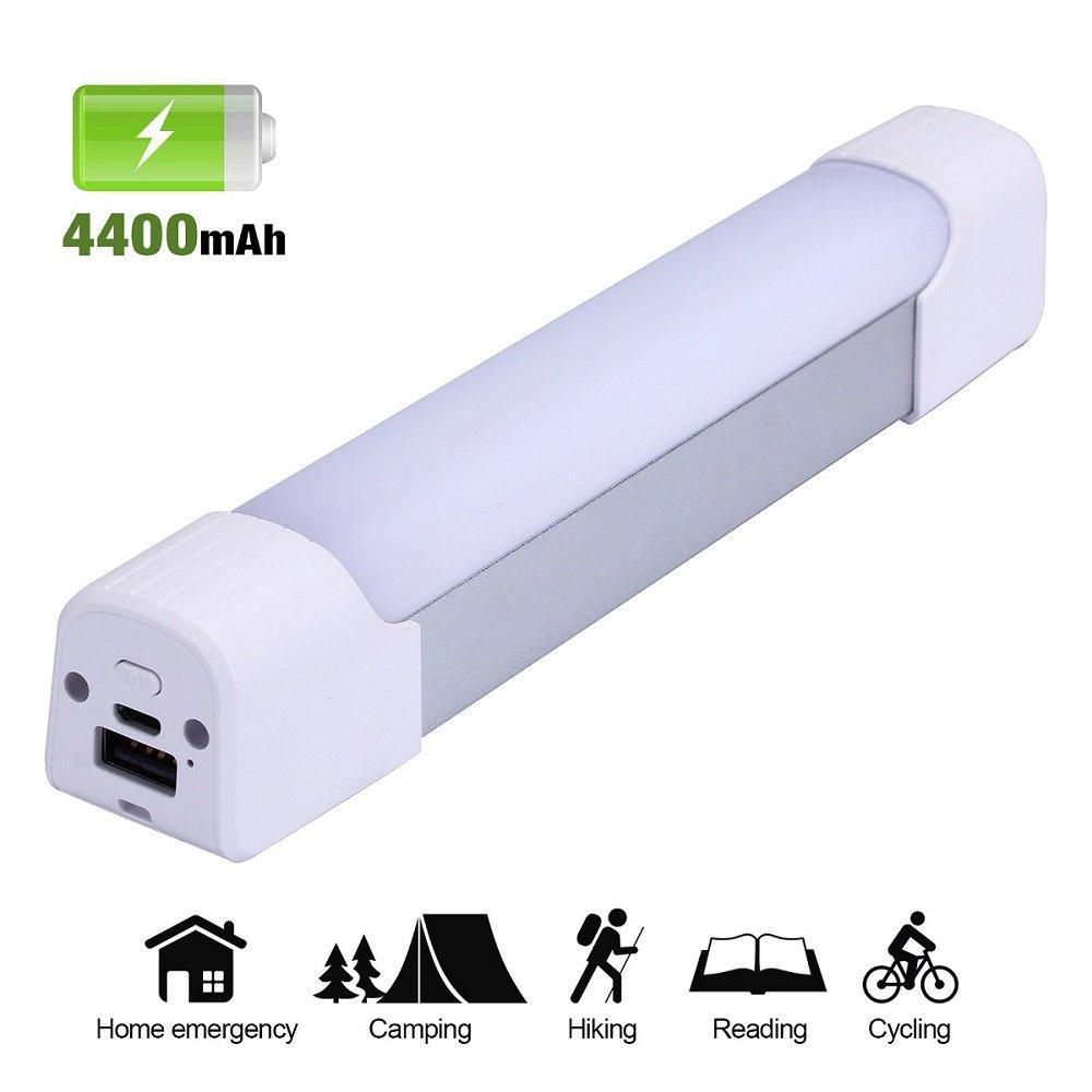 VSCIEN Portable Camping Light,Rechargeable Magnetic LED Work Light Lantern Build-in Li Battery Multi-function LED Emergency Light Stick for Car Repair,Home Lighting,Hiking,Biking by VSCIEN (Image #1)
