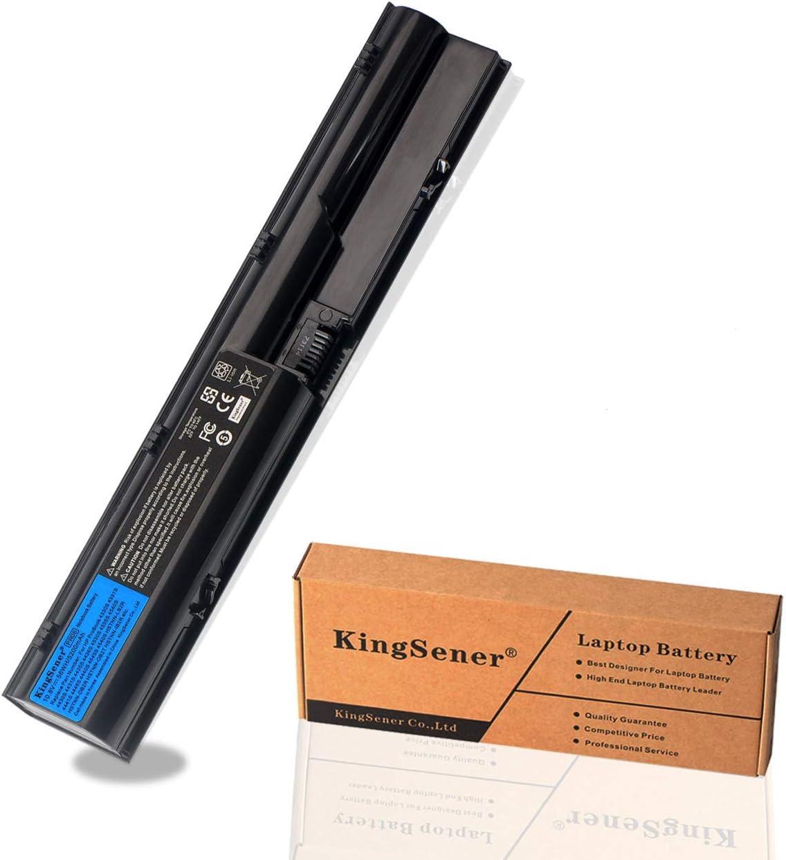 KingSener PR06 PR09 Replacement Battery for HP ProBook 4430s 4431s 4530S 4331s 4535s 4436s 4440s 4441s 4540s HSTNN-OB2R HSTNN-DB2R 633805-001(10.8V 56WH 5200mAh)
