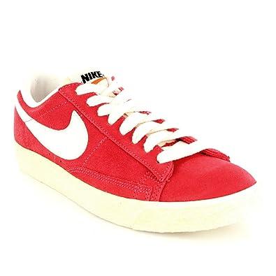 womens nike red blazer low iii vintage trainers