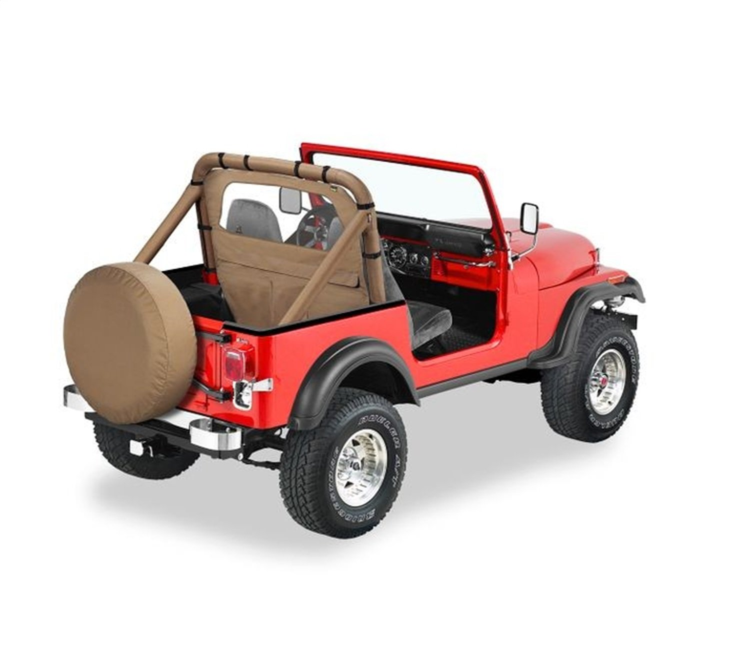 Amazon.com: Bestop 80028-37 Spice Windjammer Wind Break for 1980-1995 CJ-5,  CJ-7 & Wrangler: Automotive