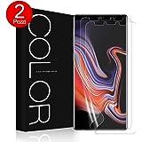 G-Color Pellicola Galaxy Note 9, Trasparente Pellicola in TPU [Senza Bolle Errore Proof] Pellicola Non di Vetro Temperato per Samsung Galaxy Note9-(Garanzia a vita)