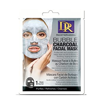 Daggett & Ramsdell Facial Sheet Bubble Mask Charcoal (Pack of ...