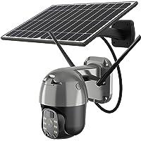 AAFLY 4GWiFi Cámara PTZ inalámbrica con batería solar, HD 1080P impermeable al aire libre 2 MP CCTV cámara de vigilancia…