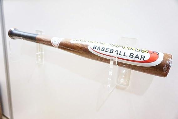 Supports de Support de Protection de Batte de Baseball QAH Support Mural daffichage de Batte de Baseball Support de vitrine de Raquette de Softball
