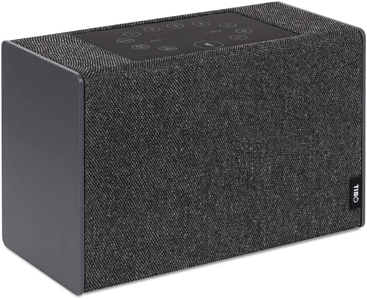 Tibo Kameleon Touch Wireless And Bluetooth Speaker Modern Grey Mp3 Hifi