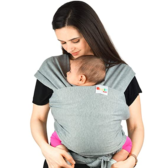 BABY SLING STRETCHY WRAP CARRIER PREMIUM BREASTFEEDING BIRTH TO 3YRS 100/% COTTON