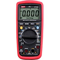 UT139C UNI-T True-Rms Digital Multimeter with Temperature Display Count 6000 Display Count 6000, DC Current from 600Ua…