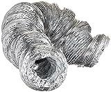 """AP Products (013-3100-M 4"""" x 25' Flexible Air Duct Flex hose"""