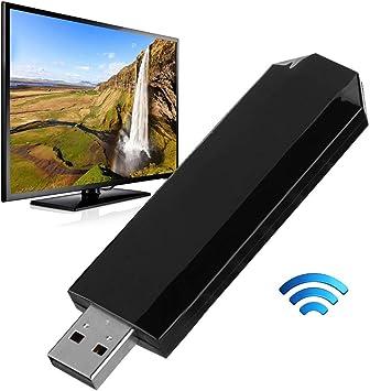 Oumij Tarjeta de Red Inalámbrica 300Mbps para Samsung Smart TV 2.4GHz/5GHz Tarjeta de Red de Televisión Inalámbrica de Doble Banda: Amazon.es: Electrónica