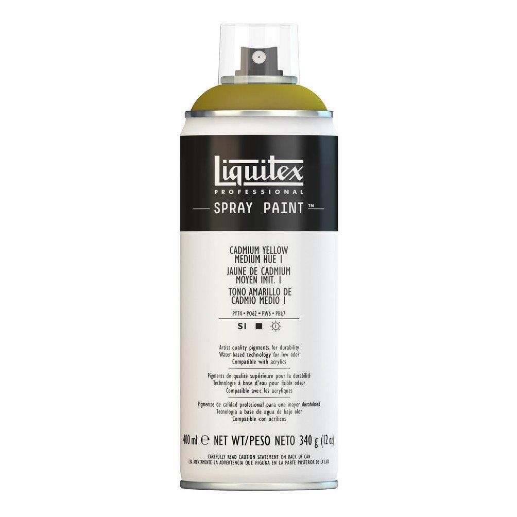 Liquitex プロフェッショナル スプレーペイント 12オンス 13.5 oz イエロー 4451830 B008LUIY5O Cadmium Yellow/ Medium Hue 1 Cadmium Yellow/ Medium Hue 1