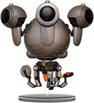Figura Vinyl Pop! Fallout 4 Codsworth Battle Limited: Amazon.es: Juguetes y juegos