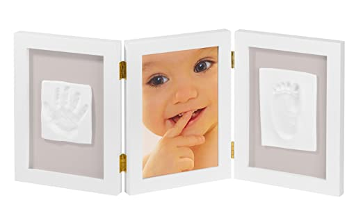 134 opinioni per My Sweet Memories - Photo Frame with 2 baby print- Cornice 3 in 1, per 1 foto e