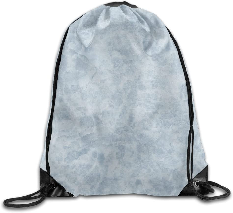 VIMUCIS Blue Marbling Drawstring Backpack Rucksack Shoulder Bags Training Gym Sack For Man And Women