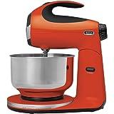 Sunbeam FPSBSM210T Heritage Series 350-Watt Stand Mixer, Tangerine Orange