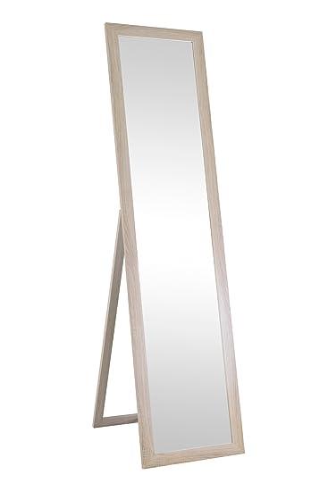Spiegel Standspiegel spiegel standspiegel in sonoma eiche sägerau nb 40x160 cm