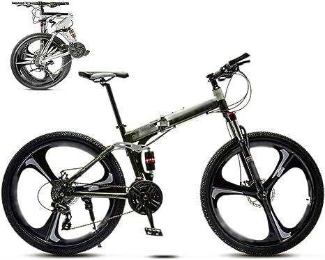 LQ&XL 24 Pulgadas 26 Pulgadas Bicicleta de Montaña Unisex, Bici ...