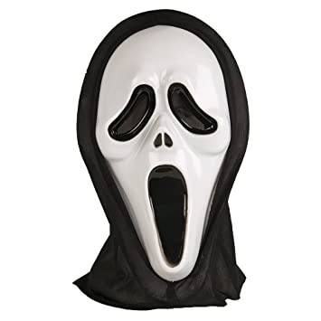 Scream Ghost Face Glow in Dark Adult Mask (máscara/careta)