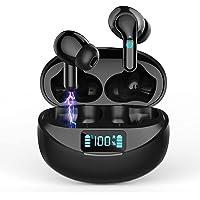 Auriculares Inalámbricos Auriculares Bluetooth 5.0 Deportivos con Cancelación de Ruido Estéreo on Micrófono In-Ear…