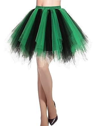 f67a99a3b22658 Dresstells Jupon Jupe Ballet Tutu Court en Tulle Couleurs variées