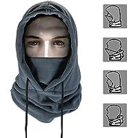 A-forest Multifunzionale Passamontagna Viso Passamontagna Freddo Maschera Maschera da Sci Cappello Nero Maschera Biker Snow Board Protezione dal Freddo
