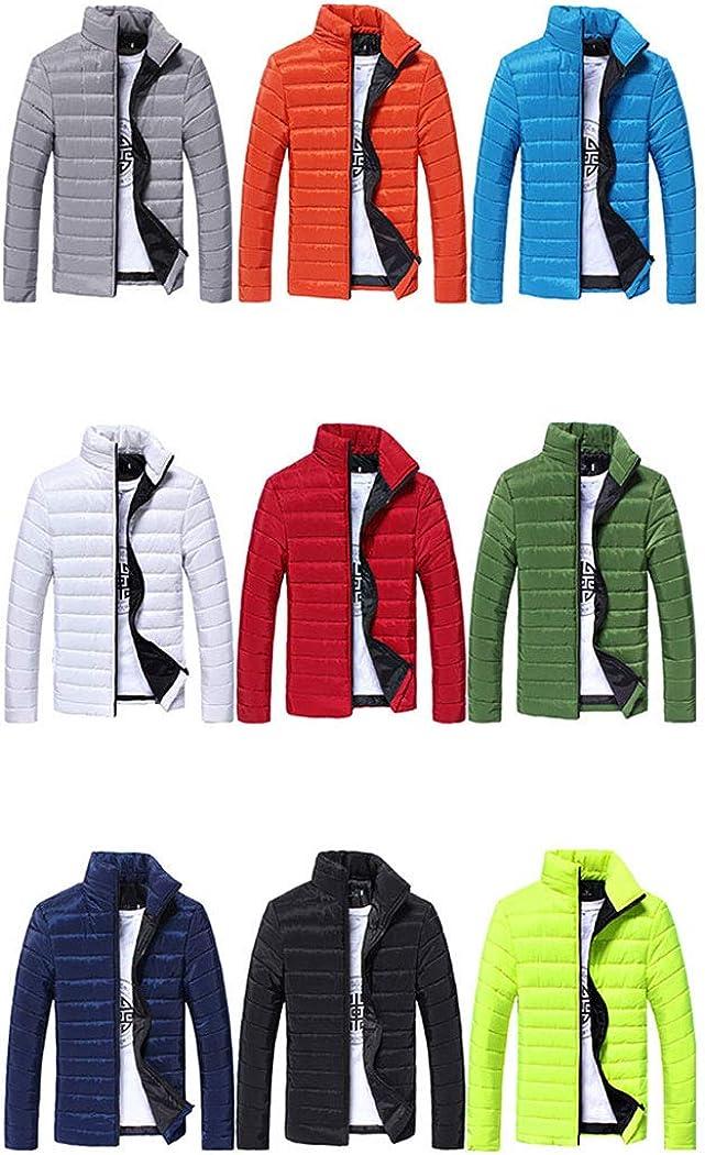 HANMAX Mens Down Jacket Light Weight Down Jacket Soft Winter Windproof Waterproof Outwear for Men