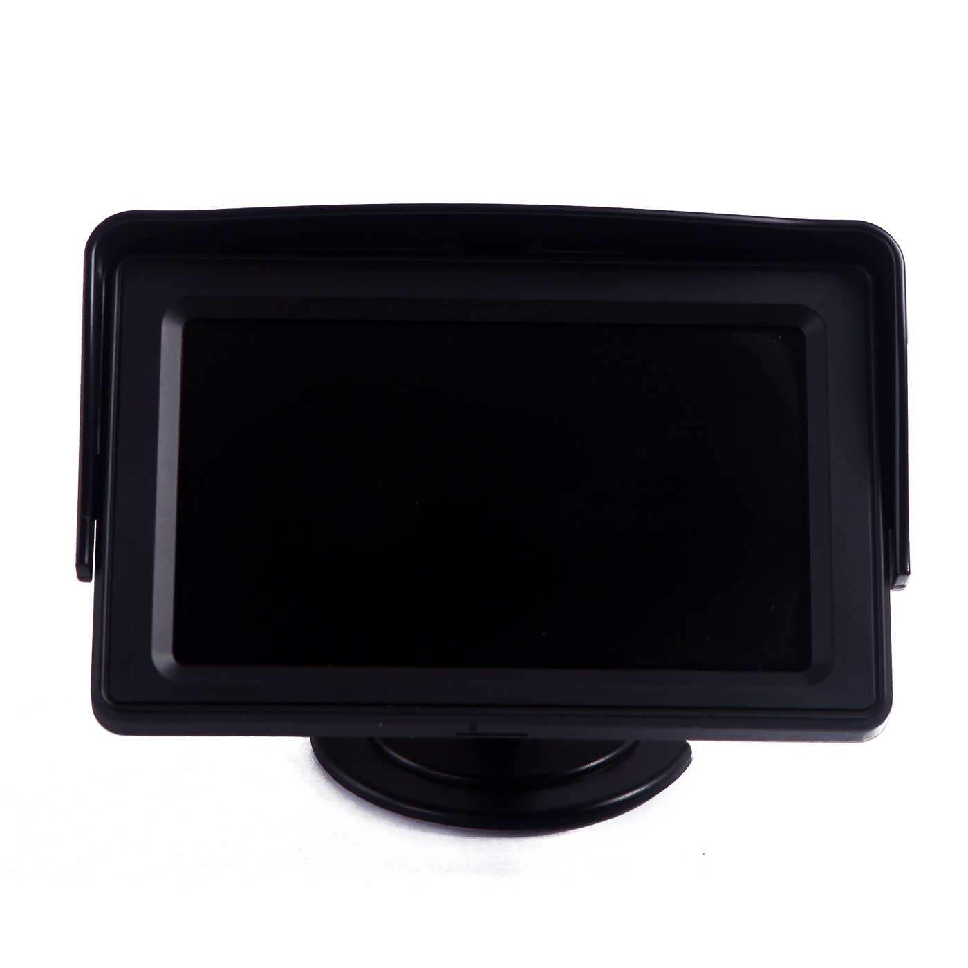 HDE 4.3 LCD Car Dashboard Color Monitor for Rearview Vehicle Backup Parking Cameras