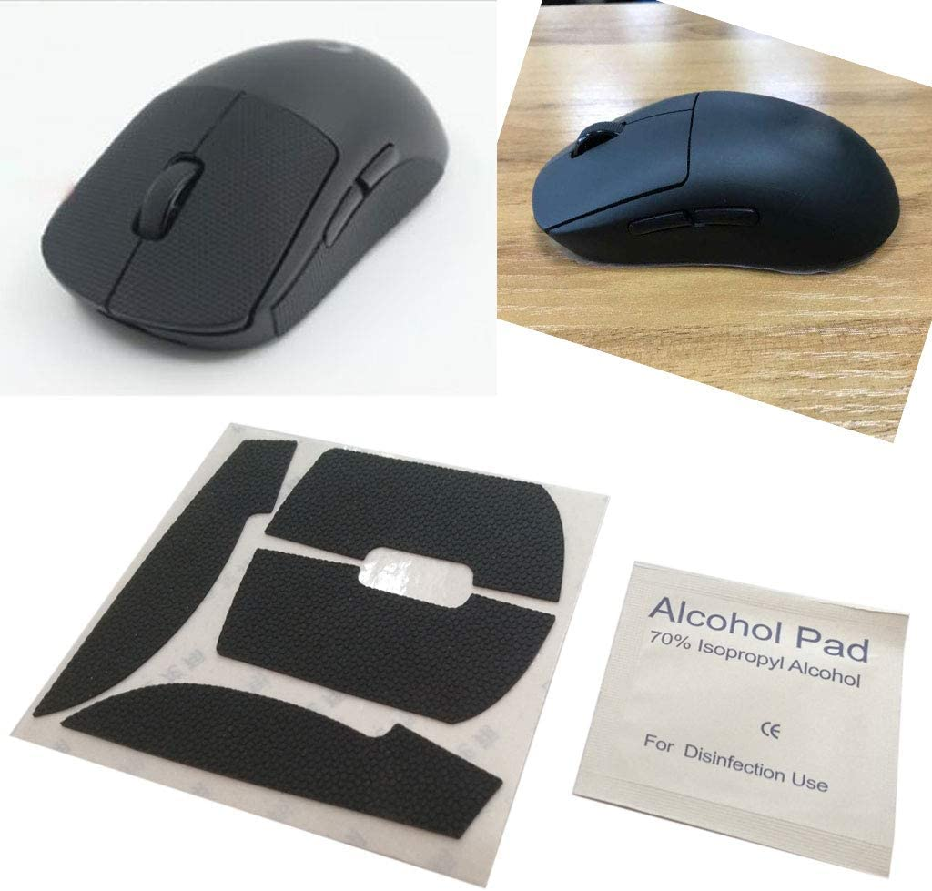 Heyuan Mouse Feet Mouse Skates Side Stickers Sweat Resistant Pads Anti-Slip Tape for Wireless Mouse