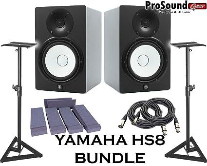 Yamaha hs8 Hookup
