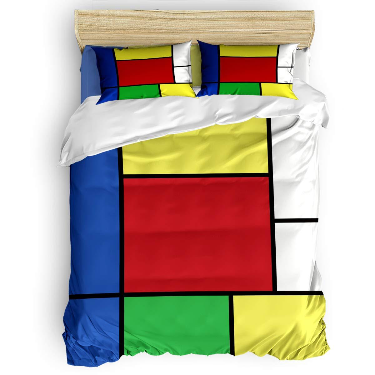 掛け布団カバー 4点セット ビーチ青い海 美しい熱帯海景 寝具カバーセット ベッド用 べッドシーツ 枕カバー 洋式 和式兼用 布団カバー 肌に優しい 羽毛布団セット 100%ポリエステル セミダブル B07TF8YCCR Square1LAS7816 セミダブル