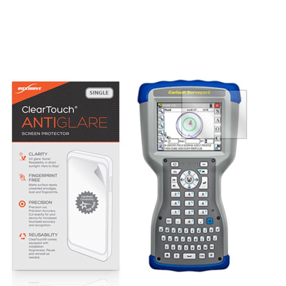 BoxWave Carlson Surveyor 2 Screen Protector, [ClearTouch Anti-Glare] Anti-Fingerprint, Scratch Proof Matte Film Shield for Carlson Surveyor 2