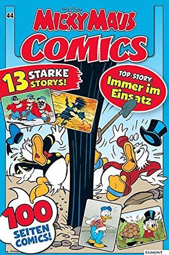 Micky Maus Comics 44: Immer im Einsatz