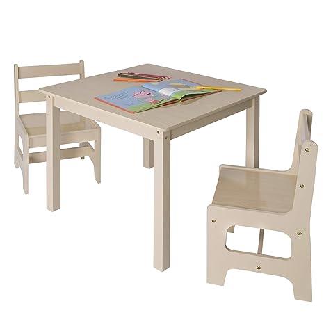Tisch & Stuhlsets Kindersitzgruppe Kindertisch mit 2 Stühle ...