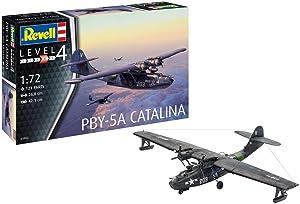 Revell GmbH 03902 PBY-5a Catalina Plastic Model Kit, Grey, 1:72