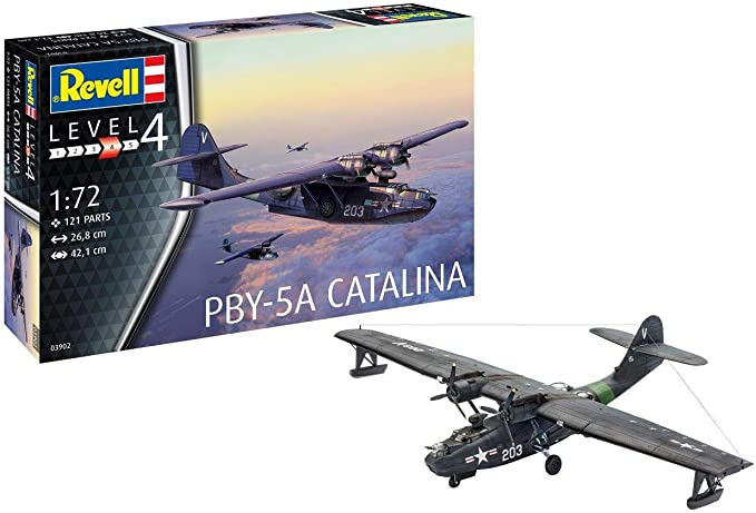 Revell  #03902 1//72 PBY-5A Catalina
