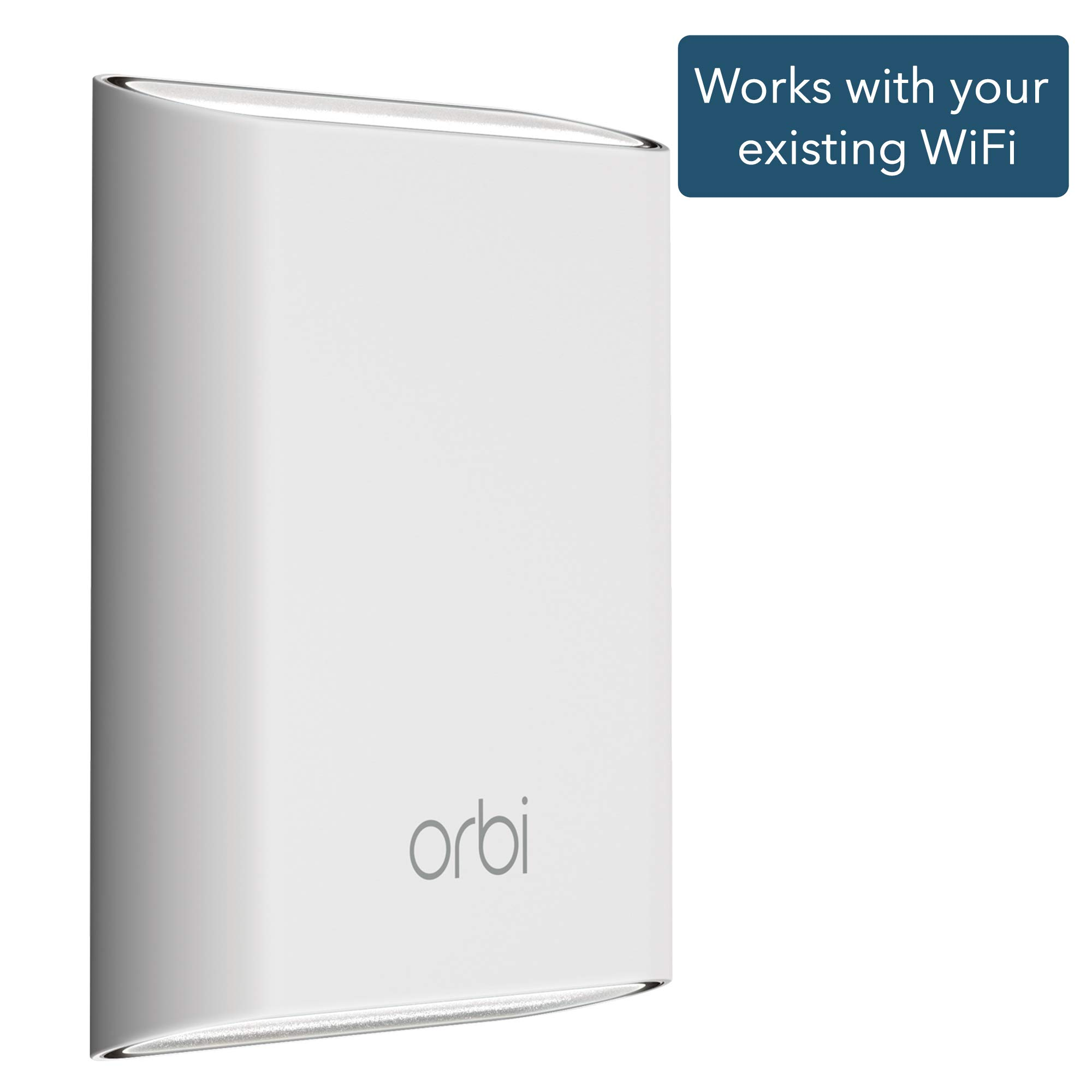NETGEAR Orbi Outdoor WiFi Mesh Extender, works with your existing WiFi router (RBS50Y) by NETGEAR