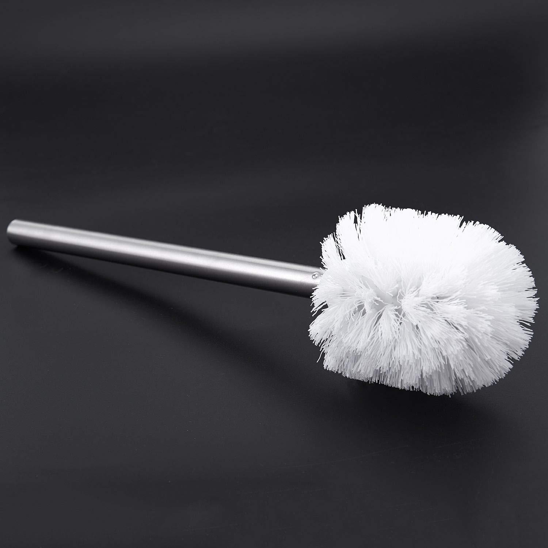 SODIAL Scopino di Ricambio Acciaio Inossidabile Bianco 8 X 35cm