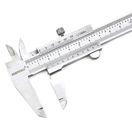 Amazon.com: nortools Calibre Vernier (Acero Inoxidable 0 – 6 ...