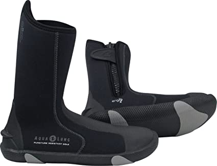 Aqualung 3mm Ergolo Grip Sock Scuba Diving Snorkeling Boots Booties Products Hot Sale Water Sports
