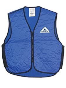 TechNiche 6529 SIZE LARGE HyperKewl 6529 Evaporative Cooling Vest,Blue